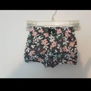 Toddler girl crazy 8 floral shorts